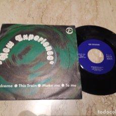 Discos de vinilo: NEW EXPERIENCE- WELCOME+3- TREMENDO PSYCHEDELIC ROCK,ANDERGRAUN ESPAÑOL-1975- EP-. Lote 222013543