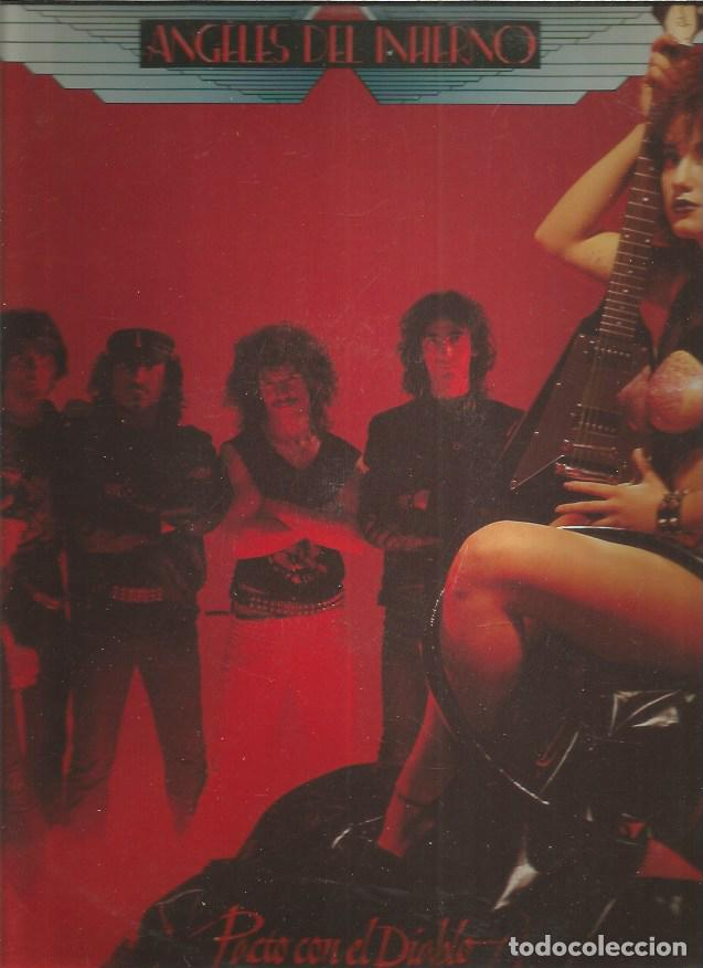 ANGELES DEL INFIERNO PACTO CON EL DIABLO (Música - Discos - LP Vinilo - Heavy - Metal)