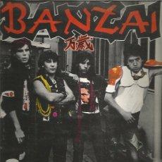 Discos de vinilo: BANZAI 1983. Lote 222015896