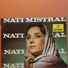 Disques de vinyle: NATI MISTRAL. COLUMBIA. Lote 222016580