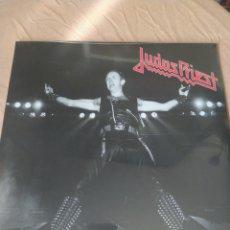 Discos de vinilo: JUDAS PRIEST–LIVE NEW YORK 1982 - FM BROADCAST - DOBLE LP VINILO PRECINTADO. Lote 222017681