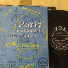 Discos de vinilo: MIDNIGHT TO DAWN , 1954, 25 CENTIMETROS. Lote 222018940