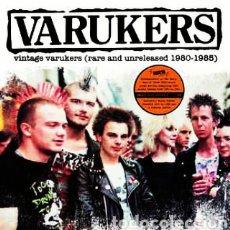 Discos de vinilo: THE VARUKERS–VINTAGE VARUKERS - RARE AND UNRELEASED - 1980 - 1985. LP VINILO PRECINTADO. PUNK. Lote 222019920