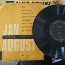 Discos de vinilo: JAN AUGUSTO ,25 CTM, MORE FAVORITES. Lote 222021277