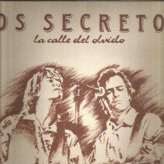 Discos de vinilo: SECRETOS CALLE DEL OLVIDO. Lote 222023261