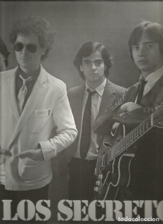 SECRETOS 1984 (Música - Discos - LP Vinilo - Grupos Españoles de los 70 y 80)