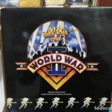 Discos de vinilo: ALL THIS AND WORLD WAR II - THE ORIGINAL SOUNDTRACK DROM THE 20TH CENTURY FOX FILM - DOBLE LP. Lote 222024086