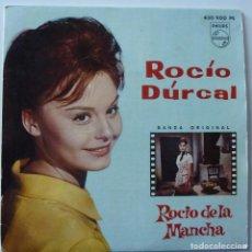Discos de vinilo: ROCIO DURCAL // ROCIO DE LA MANCHA // 1963 // EP. Lote 222025411
