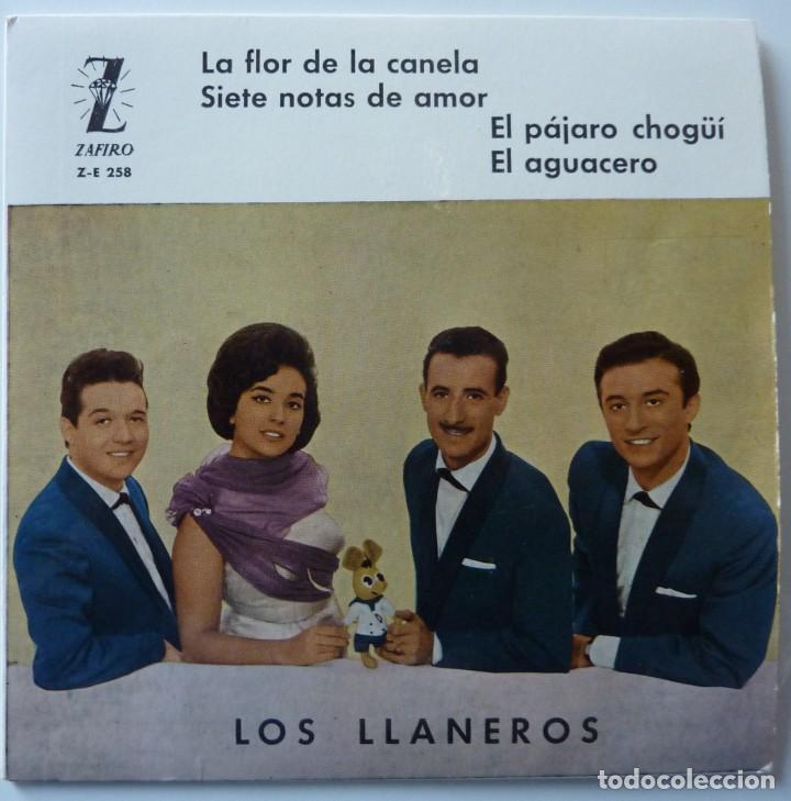 LOS LLANEROS // LA FLOR DE LA CANELA+3 // 1961 // EP (Música - Discos de Vinilo - EPs - Grupos y Solistas de latinoamérica)
