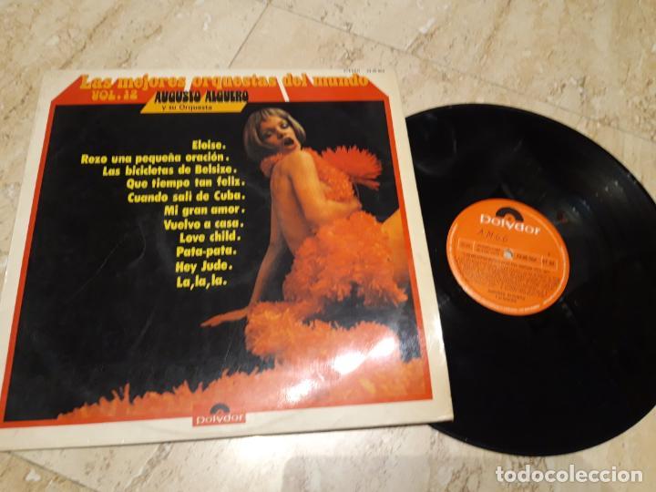 AUGUSTO ALGUERO LAS MEJORES ORQUESTAS DEL MUNDO VOL 12 1973 POLYDOR ESPAÑA (Música - Discos - LP Vinilo - Orquestas)