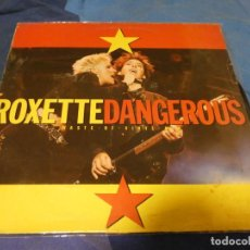 "Discos de vinilo: EXPRO MAXISINGLE 12"" ROXETTE DANGEROUS ESPAÑA 1990 MUY BUEN ESTADO GENERAL. Lote 222035206"