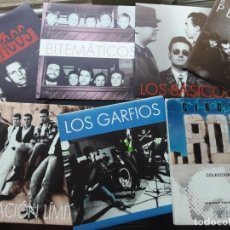 Discos de vinilo: PACK DE LOS 6 SINGLES CIRCUITO ROCK 1992, LOS BÁSICOS, GARFIOS, PLASTICOS, BITEMATICOS.... Lote 222036648
