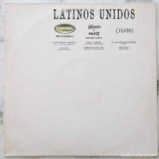Discos de vinilo: LATINOS UNIDOS.CONTROL MACHETE.EL SUP.LOS LOBOS.GEGGY TAH... MAXI SINGLE ESPAÑA 6 TEMAS. Lote 222037836