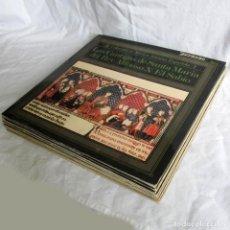 Discos de vinilo: 7 LPS VINILO DE LA COLECCIÓN MÚSICA ANTIGUA ESPAÑOLA. Lote 222040006