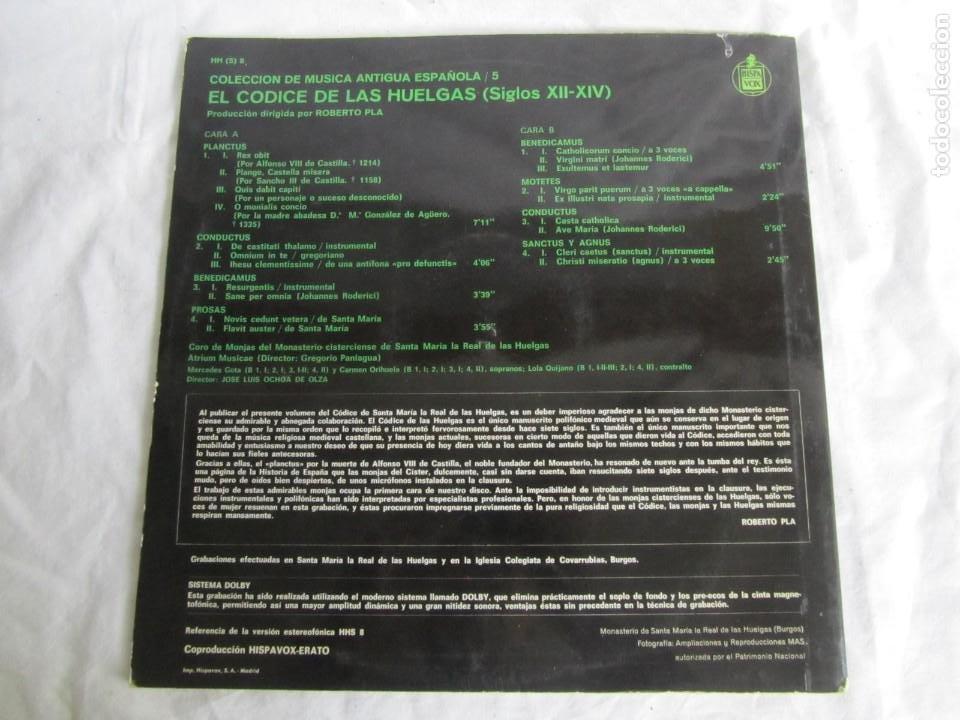 Discos de vinilo: 7 LPs vinilo de la colección Música Antigua Española - Foto 7 - 222040006