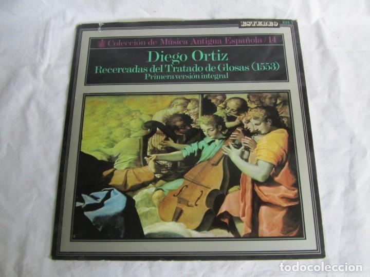 Discos de vinilo: 7 LPs vinilo de la colección Música Antigua Española - Foto 8 - 222040006