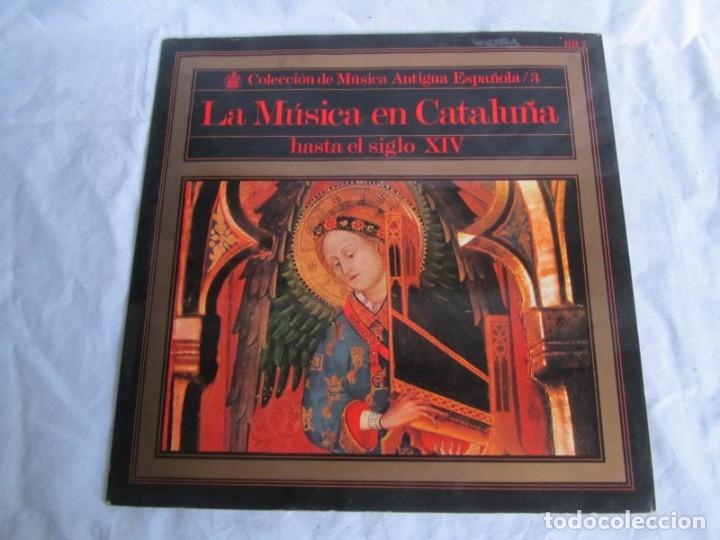 Discos de vinilo: 7 LPs vinilo de la colección Música Antigua Española - Foto 11 - 222040006