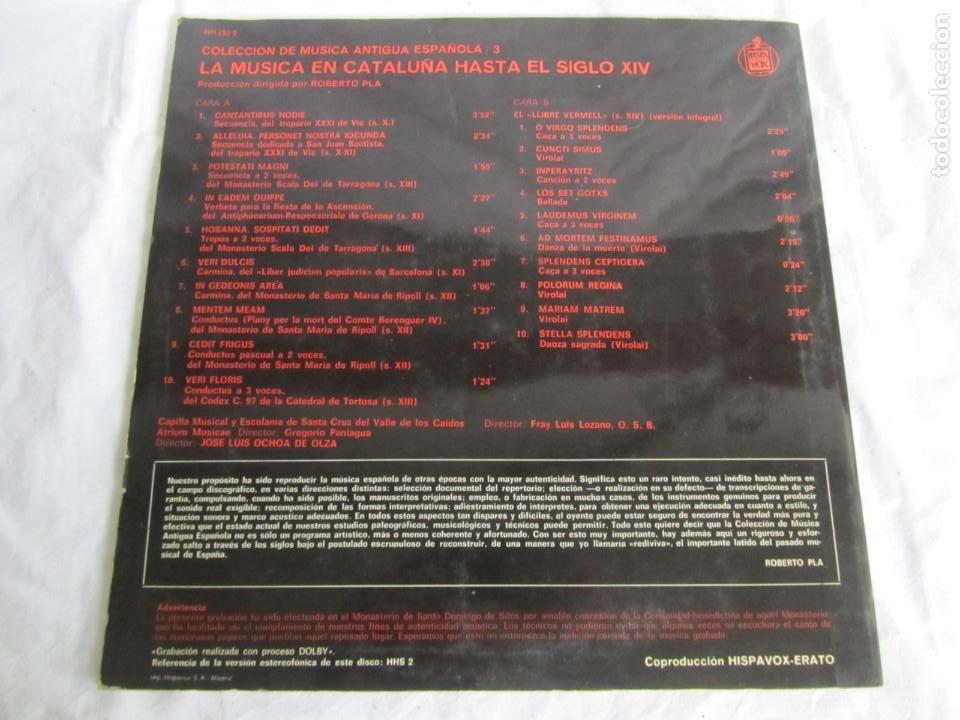 Discos de vinilo: 7 LPs vinilo de la colección Música Antigua Española - Foto 13 - 222040006
