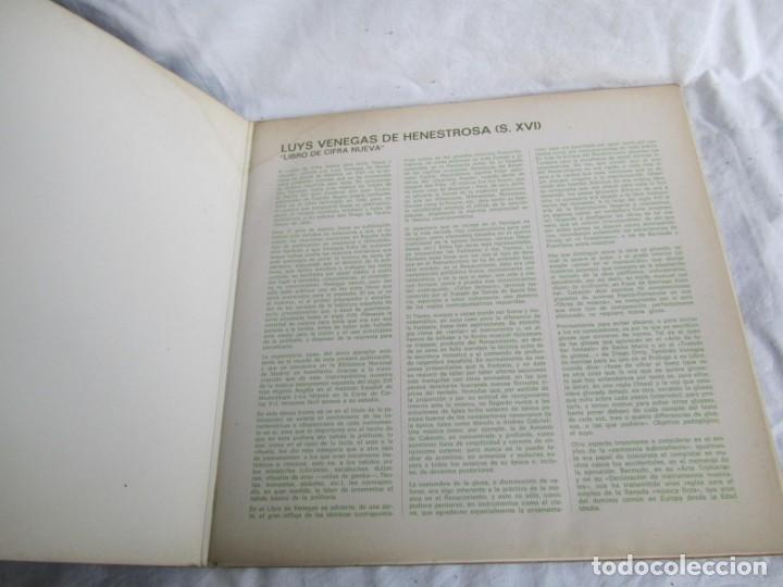 Discos de vinilo: 7 LPs vinilo de la colección Música Antigua Española - Foto 18 - 222040006