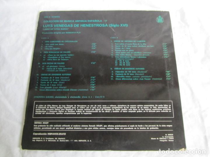 Discos de vinilo: 7 LPs vinilo de la colección Música Antigua Española - Foto 19 - 222040006