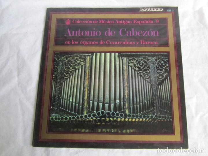 Discos de vinilo: 7 LPs vinilo de la colección Música Antigua Española - Foto 20 - 222040006