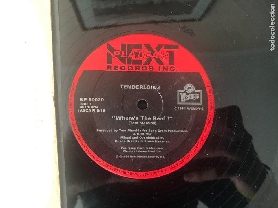 TENDERLOINZ ?– WHERE'S THE BEEF ? (Música - Discos de Vinilo - Maxi Singles - Electrónica, Avantgarde y Experimental)