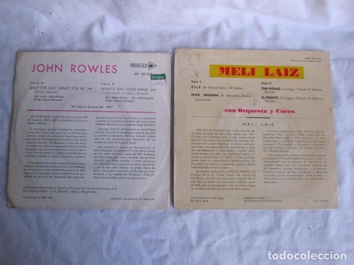 Discos de vinilo: 32 singles y EPs vinilo música años 60-70, bien conservados - Foto 3 - 222041971