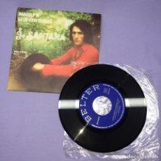Discos de vinilo: SINGLE J. SANTANA -- MARILYN LLUEVEN ROSAS -- EX. Lote 222042441