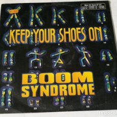Discos de vinilo: BOOM SYNDROME - KEEP YOUR SHOES ON - 1997. Lote 222043270