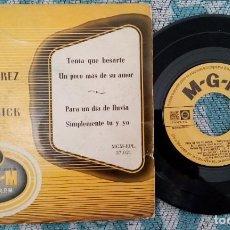 Discos de vinilo: SINGLE CARLOS RAMIREZ - BARBARA RUICK - ¡ÚNICO ENVIO A FINAL DE MES!. Lote 222049727