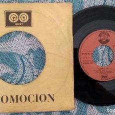 Discos de vinilo: SINGLE SLEEPY LABEEF - ROCK & ROLL RUBY - ¡ÚNICO ENVIO A FINAL DE MES!. Lote 222050476