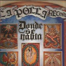 Discos de vinilo: LA POLLA RECORDS DONDE SE HABLA. Lote 222054198