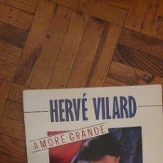 """Discos de vinilo: HERVÉ VILARD ?– AMORE GRANDE SELLO: TREMA ?– 410 490, TREMA ?– 410490 FORMATO: VINYL, 7"""", 45 RPM, SI. Lote 222054621"""