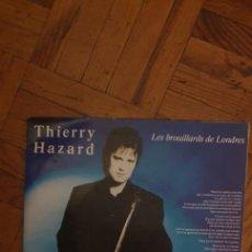 Discos de vinilo: THIERRY HAZARD ?– LES BROUILLARDS DE LONDRES SELLO: COLUMBIA ?– 656737 7, COLUMBIA ?– COL 656737 7 F. Lote 222054817