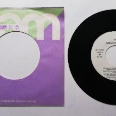 """Discos de vinil: 1020-YES OWNER OF A LONELY HEART - VIN 7"""" POR G+ DIS G+. Lote 222054900"""