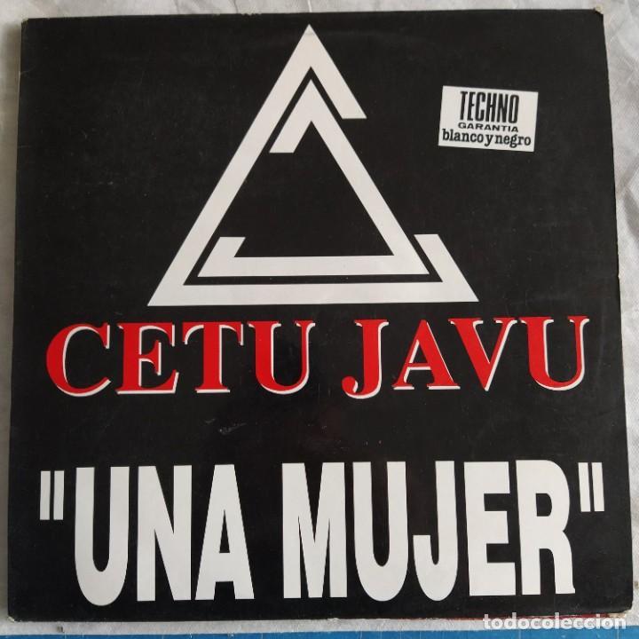 """CETU JAVU - UNA MUJER (12"""") (1993/ES) (Música - Discos de Vinilo - Maxi Singles - Grupos Españoles de los 90 a la actualidad)"""