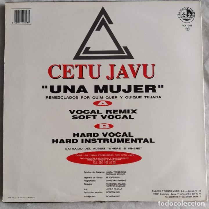 """Discos de vinilo: Cetu Javu - Una Mujer (12"""") (1993/ES) - Foto 2 - 222054927"""