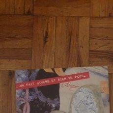 """Discos de vinilo: LE CLUB – ...UN FAIT DIVERS ET RIEN DE PLUS... SELLO: VOGUE – 101733 FORMATO: VINYL, 7"""", 45 RPM, S. Lote 222055373"""