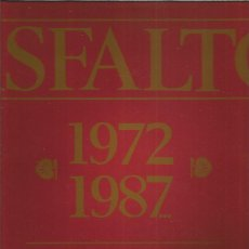 Discos de vinilo: ASFALTO 1972 1987. Lote 222060362