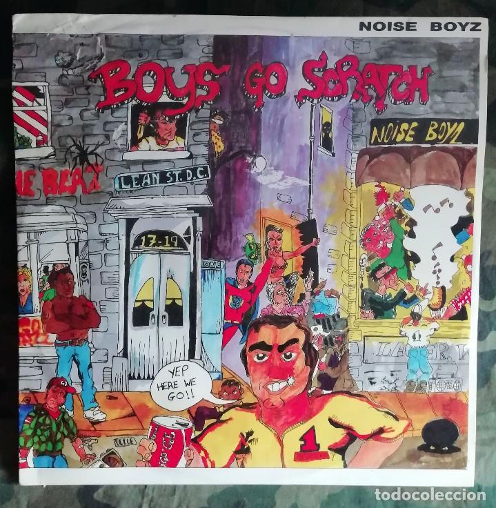 THE NOISE BOYZ - BOYS GO SCRATCH MAXI SINGLE UK 1986 (Música - Discos de Vinilo - Maxi Singles - Electrónica, Avantgarde y Experimental)