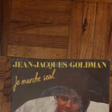 Discos de vinilo: JEAN-JACQUES GOLDMAN ?– JE MARCHE SEUL SELLO: EPIC ?– EPC A6294, EPIC ?– EPCA 6294 FORMATO: VINYL. Lote 222062313