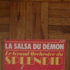 Discos de vinilo: LE GRAND ORCHESTRE DU SPLENDID ?– LA SALSA DU DÉMON SELLO: RCA ?– ZB 8585 FORMATO: VINYL, 7+. Lote 222062367