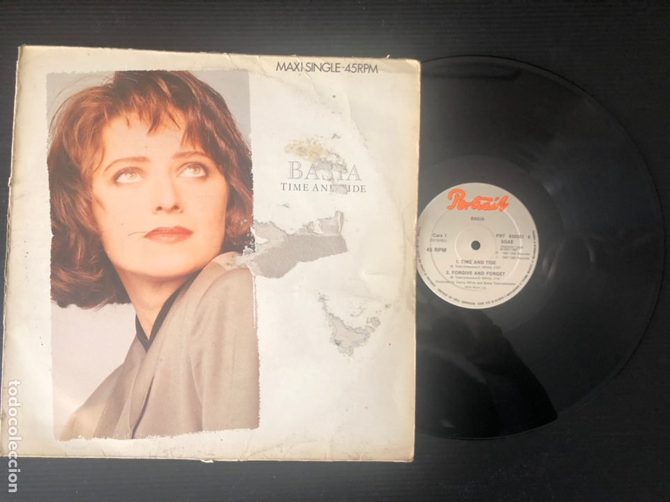 BASIA – TIME AND TIDE (Música - Discos de Vinilo - Maxi Singles - Jazz, Jazz-Rock, Blues y R&B)