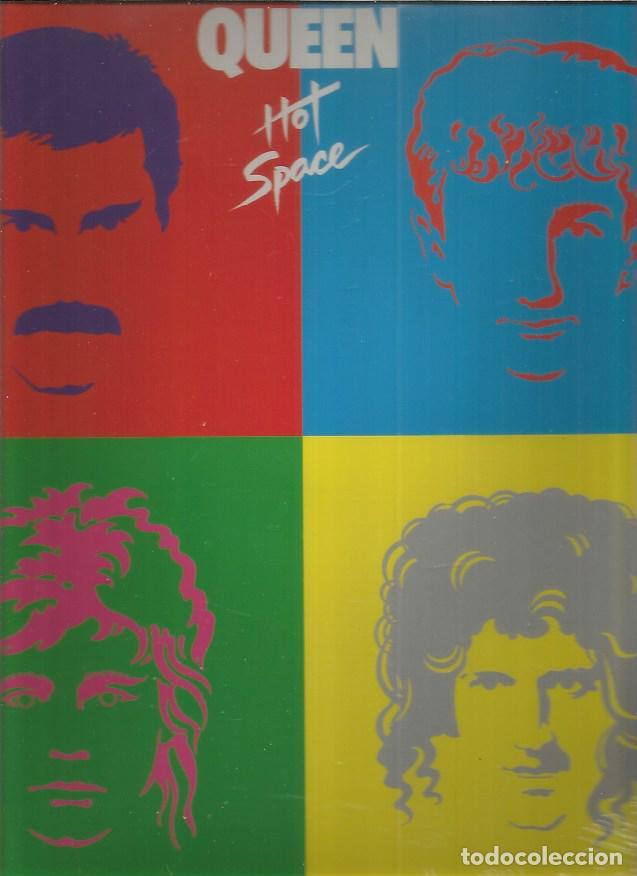 QUEEN HOT SPACE (Música - Discos - LP Vinilo - Pop - Rock - Extranjero de los 70)