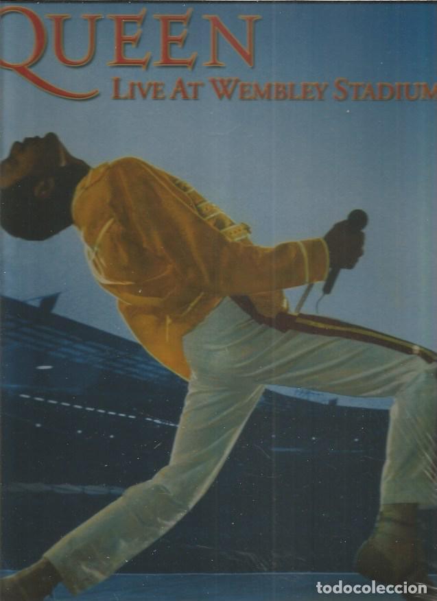 QUEEN LIVE WMBLEY (Música - Discos - LP Vinilo - Pop - Rock - Extranjero de los 70)