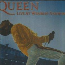 Discos de vinilo: QUEEN LIVE WMBLEY. Lote 222066283
