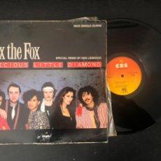Discos de vinilo: FOX THE FOX – PRECIOUS LITTLE DIAMOND (SPECIAL REMIX. Lote 222076433
