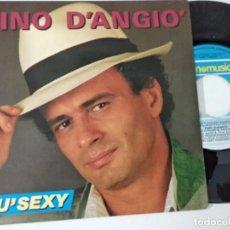 Discos de vinilo: PINO D´ANGIO - PIU´SEXY + ALQUANTO ARRABIATI. Lote 222080153