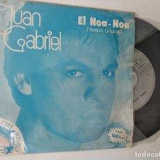 Discos de vinilo: JUAN GABRIEL - EL NOA - NOA / LASTIMA ES MI MUJER. Lote 222082698
