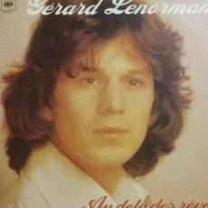 Discos de vinilo: GERARD LENORMAN. LP. SELLO CBS. EDITADO EN ESPAÑA. AÑO 1977. Lote 222084170